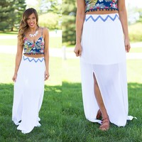 Beat Of The Drum Maxi Skirt