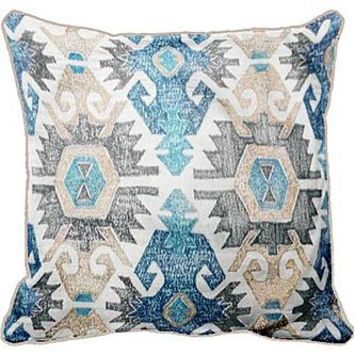 "18"" x 18"" Tribal/Radiant Pillow"