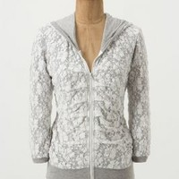 Laced Up Hoodie by Bordeaux Neutral L Sweaters