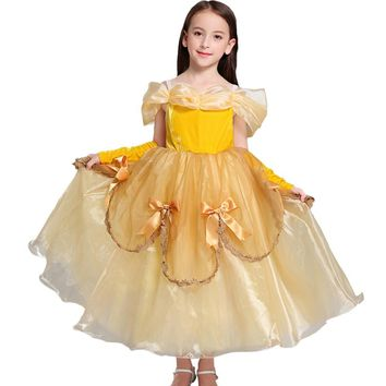 Baby Girl Dress : Rapunzel Party Princess Dress