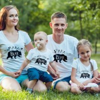 Bear Family Tees - Family Matching Outfits