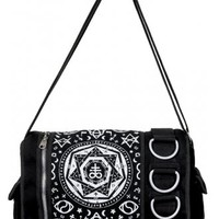 BANNED APPAREL PENTAGRAM MESSENGER BAG