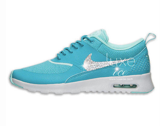 new arrival 06566 ce013 Nike Air Max Thea shoes w  Swarovski from Luxe Ice