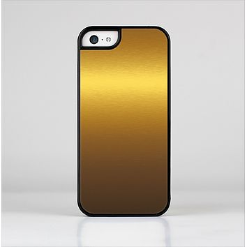 The Gold Shimmer Surface Skin-Sert Case for the Apple iPhone 5c