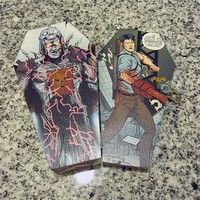 Evil Dead Comic Coffin Box