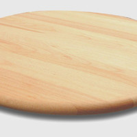 "Lazy Susan - 36"" All Natural Wood - Handmade"