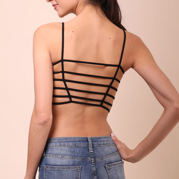 Suzette Ladder Back Long Bralette