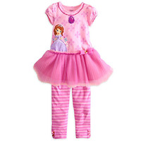 Disney Sofia Dress with Leggings Set for Girls | Disney Store