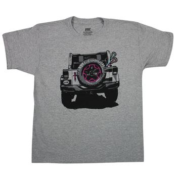 Jeep Girls Lacrosse Tee - Youth