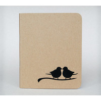 Bird Silhouette Notebook - Small notebook, Stationery, Journal, Notepad, Notebook journal, Cute notebook, Christmas gifts, Stocking fillers