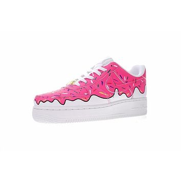 Nike Air Force 1 Low Canvas AF1 Sneaker ¡°Ice cream¡±596728-818