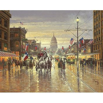 After the Centennial Parade Art Prints by Jack Terry
