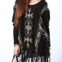 Coyote Fringe Sweater