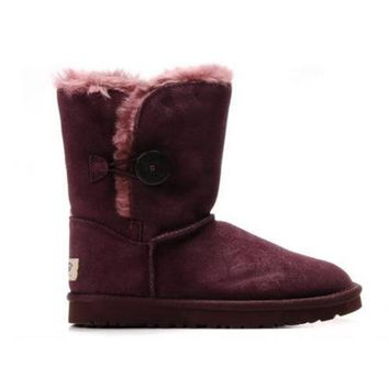 Uggs Boots Black Friday 2016 Bailey Button 5803 Scarlet For Women 83 00