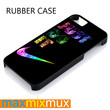 Rainbow Nike Just Do It iPhone 4/4S, 5/5S, 5C, 6/6 Plus Series Rubber Case