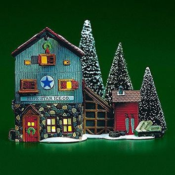 Department 56 Blue Star Ice Co 56472
