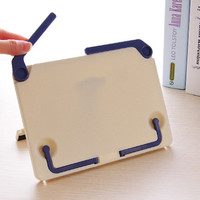 Book Stand Steel Reading Desk Holder Tilt Adjustment
