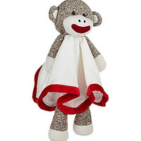 Baby Starters Sock Monkey Snuggle Buddy - Tan