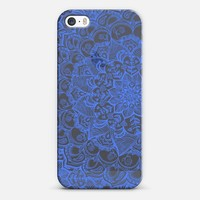 Cornflower Blue Transparent Lace iPhone 6 case by Micklyn Le Feuvre | Casetify