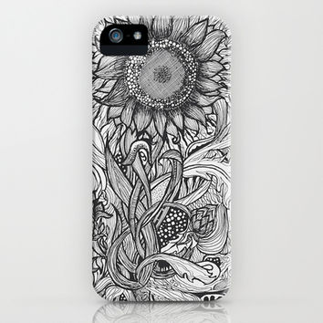 Sunflower iPhone & iPod Case by Ben Nguyen