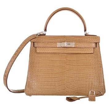 birkin purses prices - hermes kelly bag 28cm mimosa matte alligator retourne palladium ...