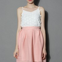 Full of Daisy Cami Top in White