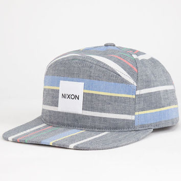 Nixon Snapper Print Mens 5 Panel Hat Multi One Size For Men 25165895701
