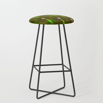 zappwaits Flower Bar Stool by netzauge