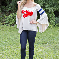 "Mississippi ""Ole Miss"" Top"