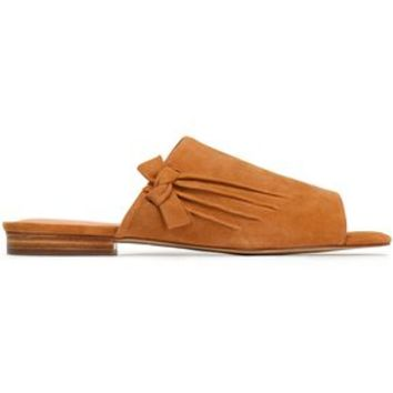 Lorraine knotted suede slides | HALSTON HERITAGE | Sale up to 70% off | THE OUTNET