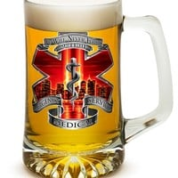 EMS We Will Never Forget Red Sky 25 oz Tankard