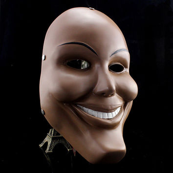 The Purge Movie Horror Fancy Dress Up Wrestling Halloween Mask Custom Cosplay