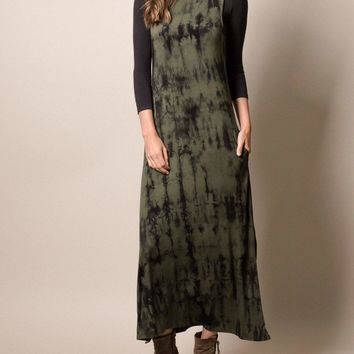Elemental Tie-Dye Maxi Dress
