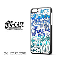 5 Seconds Of Summer Lyrics Amnesia 5SOS For Iphone 5C Case Phone Case Gift Gift Present