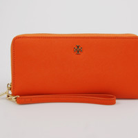 Tory Burch York Zip Wristlet