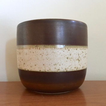 Vintage Denby Potter's Wheel Planter