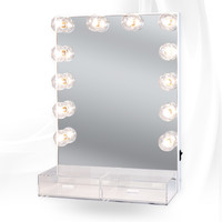 Impressions Vanity Hollywood Crystal Vanity Mirror