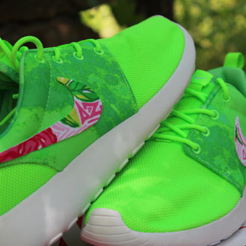 Delta Zeta Nike Custom Roshe Run