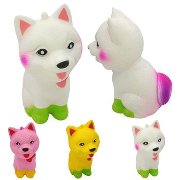 Jumbo Pomeranian Squishy Cute Dog Super Slow Rising Scented Fun Animal Toys
