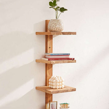 Takara Column Wood Shelf | Urban Outfitters
