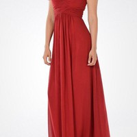 Long chiffon Bridesmaid dress BB 097-883