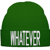 WHATEVER BEANIE WINTER HAT
