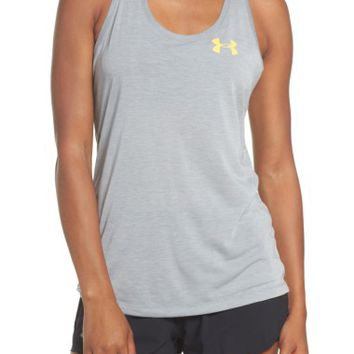 Under Armour Threadborne Graphic Tank | Nordstrom