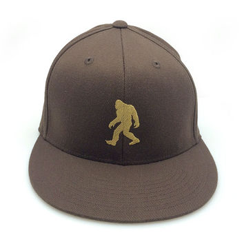 Men's/Unisex Baseball Cap - Bigfoot - Men's/Unisex Embroidered Hat - Men's Pro-Fit Flexfit Hat