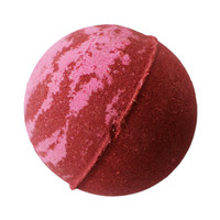 Holiday Berry Bath Bomb- Christmas Bath Bomb- Cranberry and Mulberry, Cruelty Free Leaping Bunny Ceritfied