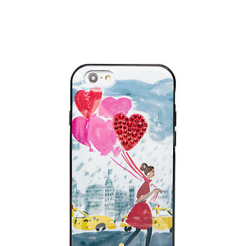 Kate Spade Jeweled Balloon Girl Iphone 6 Case Multi ONE