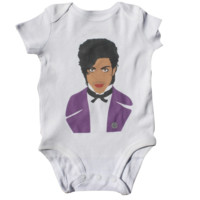 Prince Baby Bodysuit – Illustrated and Handmade in the USA