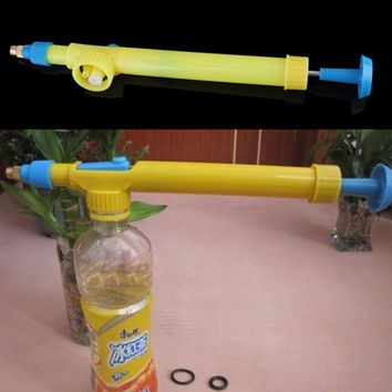 Plastic Trolley Gun - Sprayer For Water/Pesticide Spraying  **Connects to any water or soda bottle**