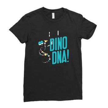 dino dna Ladies Fitted T-Shirt