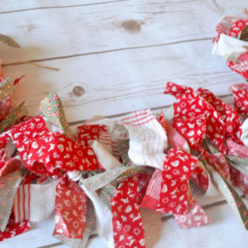 Christmas Banner - rustic christmas decor - christmas garland - reindeer decor - country christmas decor - rustic christmas - holiday banner